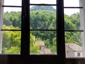 Desde la ventana de uno de las habitaciones